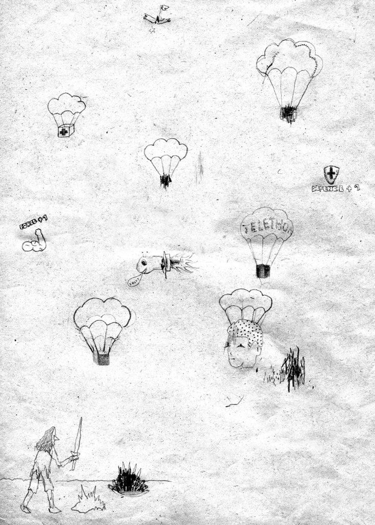 nils-bertho-artiste-underground-dessin-tableau-oeuvre-rottring-art-créature-monstre-imaginaire-figuratif-minutieux-original
